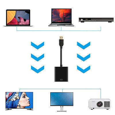 HD 1080P USB 3.0 Video Adapter Laptop
