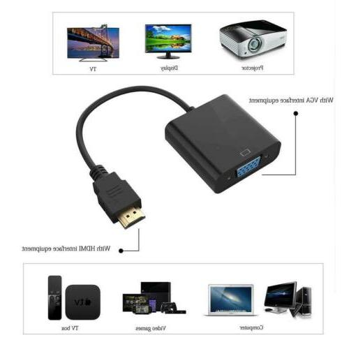 HDMI Male Female Video Cable Converter Adapter DVD HDTV 1080