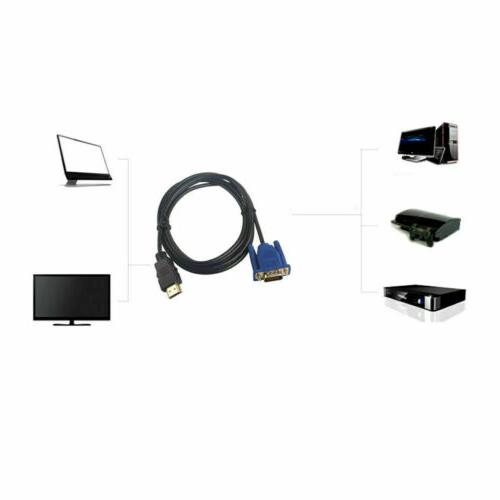 Male Cable for DVD 1080p HDTV 6FT