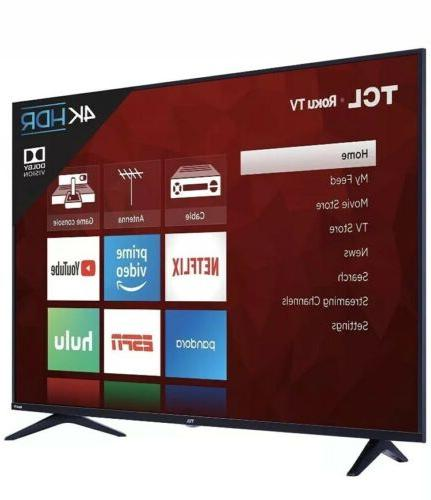 NEW 55-Inch 4K Ultra Roku Smart TV