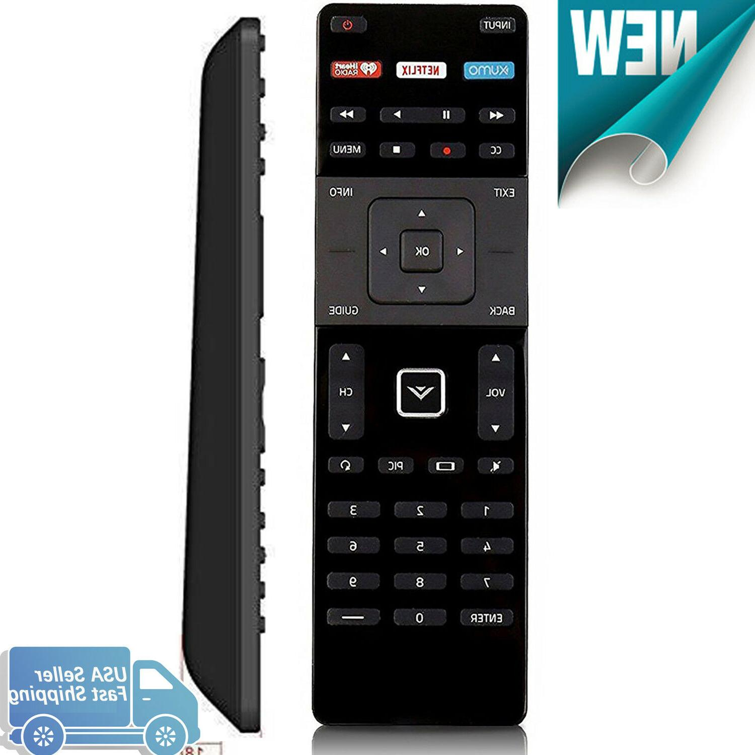 New for Vizio Smart TV Remote Control XRT122 with Netflix iH