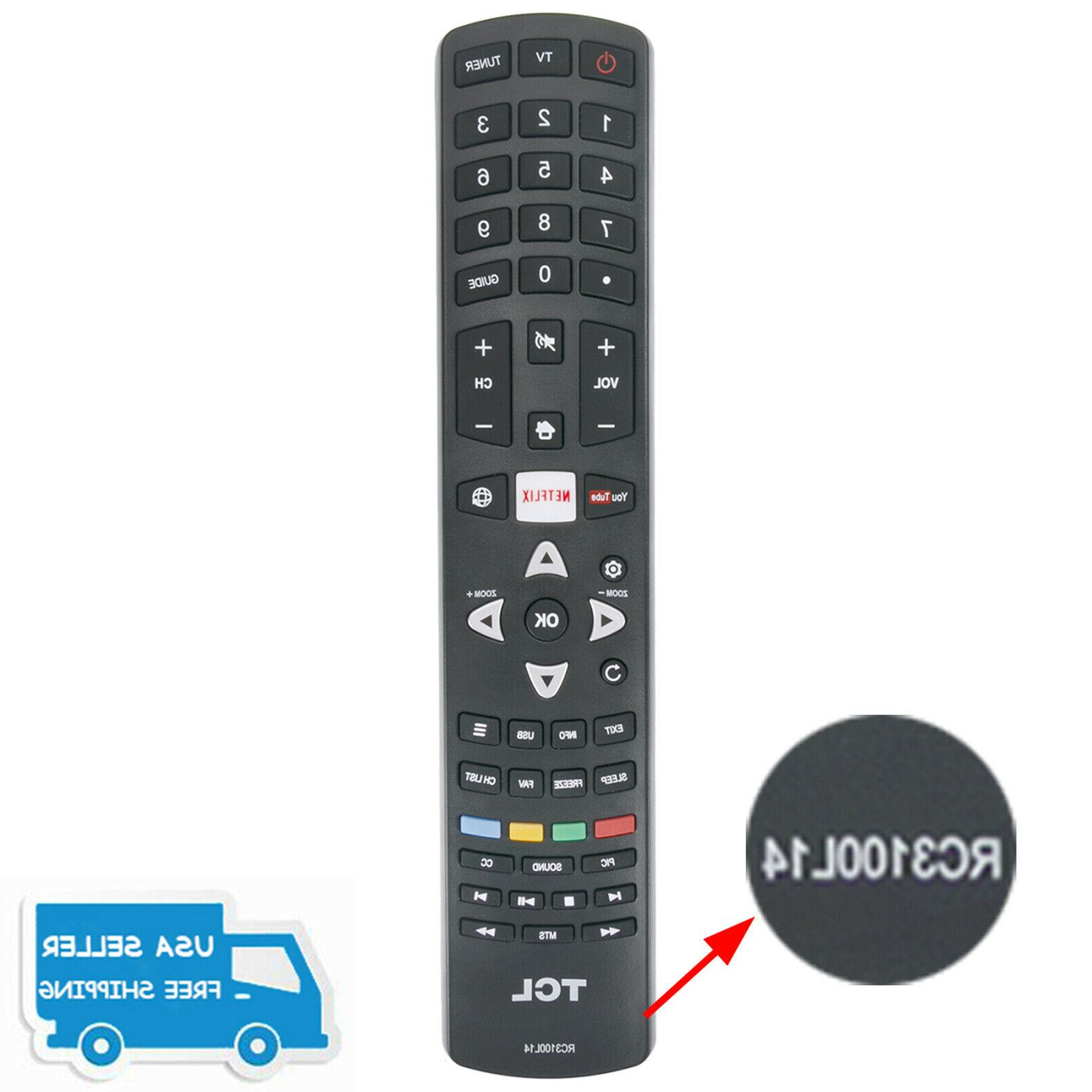 "New Remote RC3100L14 for TCL 55"" LED Full HD TV 32D2900 32D2"