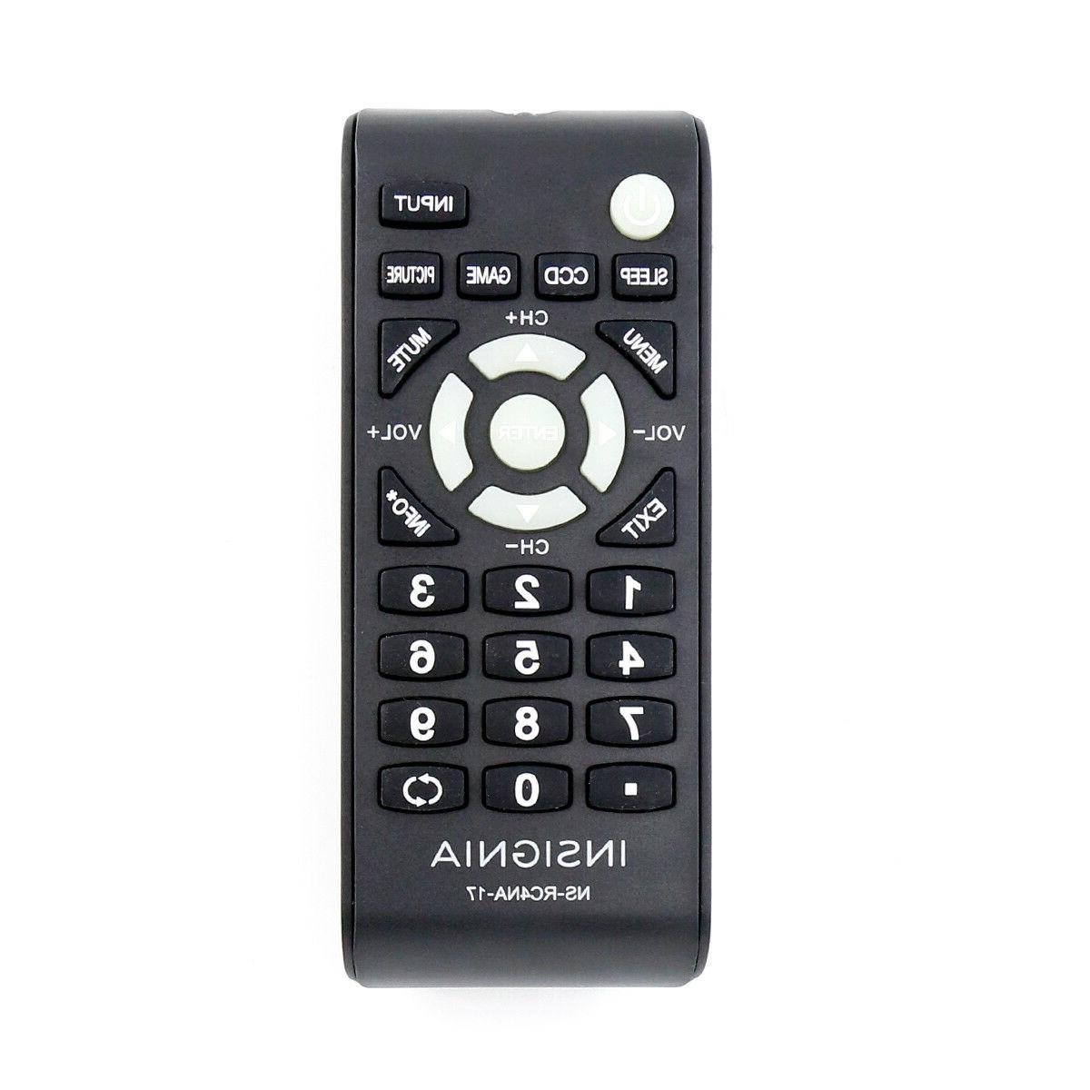 New NS-RC4NA-17 NSRC4NA17 TV Remote NS24D510MX17 NS24D510NA17