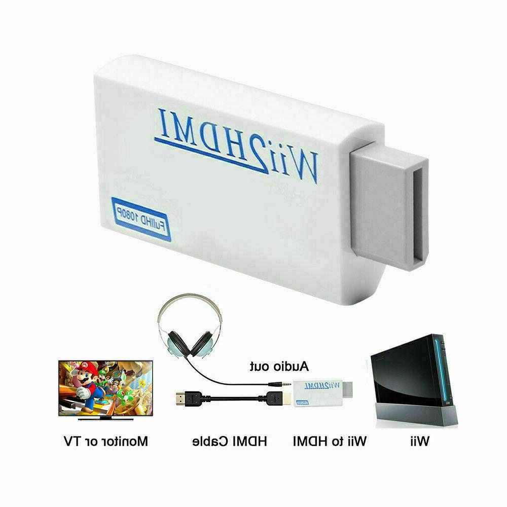 portable wii to hdmi wii2hdmi full hd