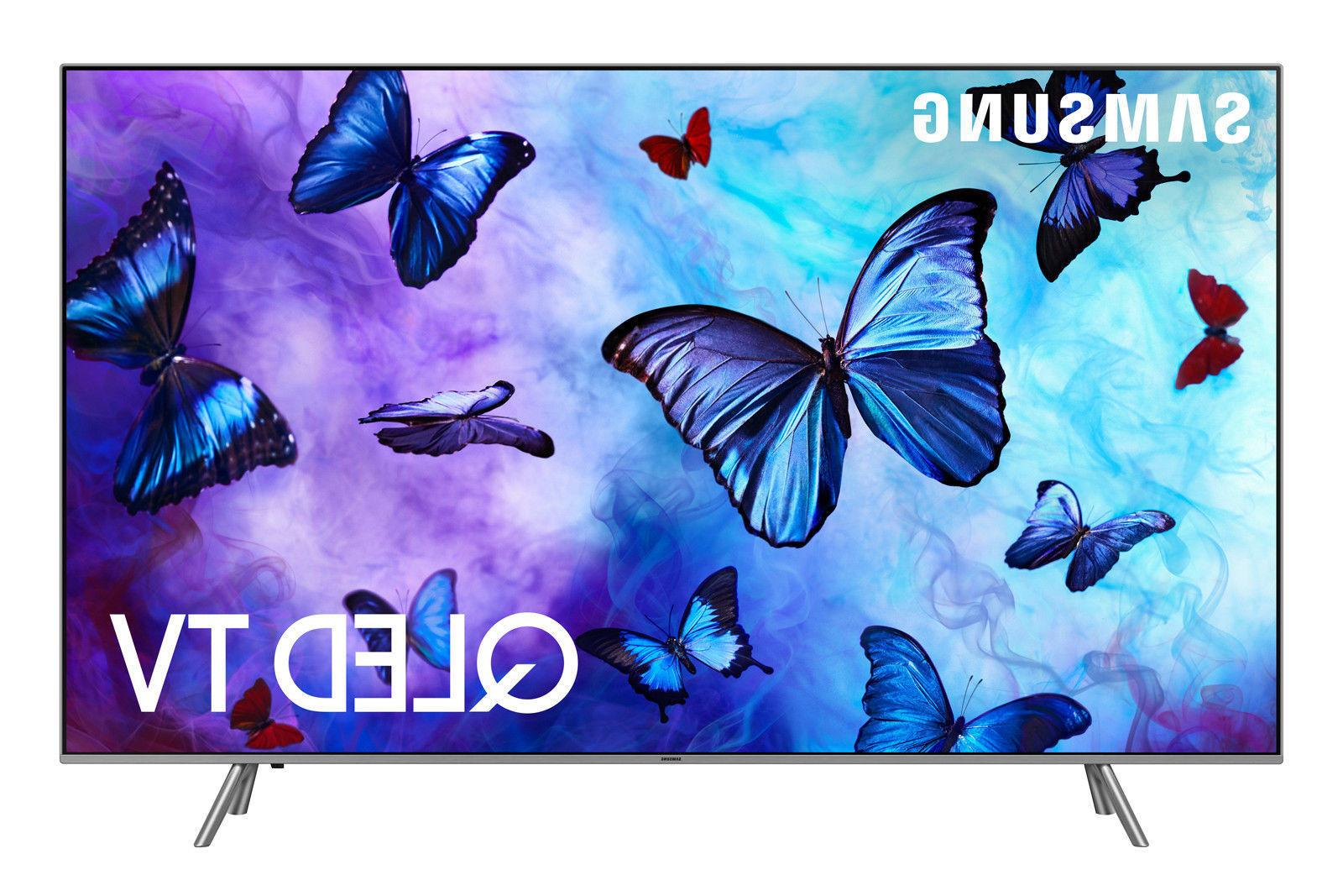 "Samsung QN82Q6FN 2018 82"" Smart Q LED 4K Ultra HD TV with HD"