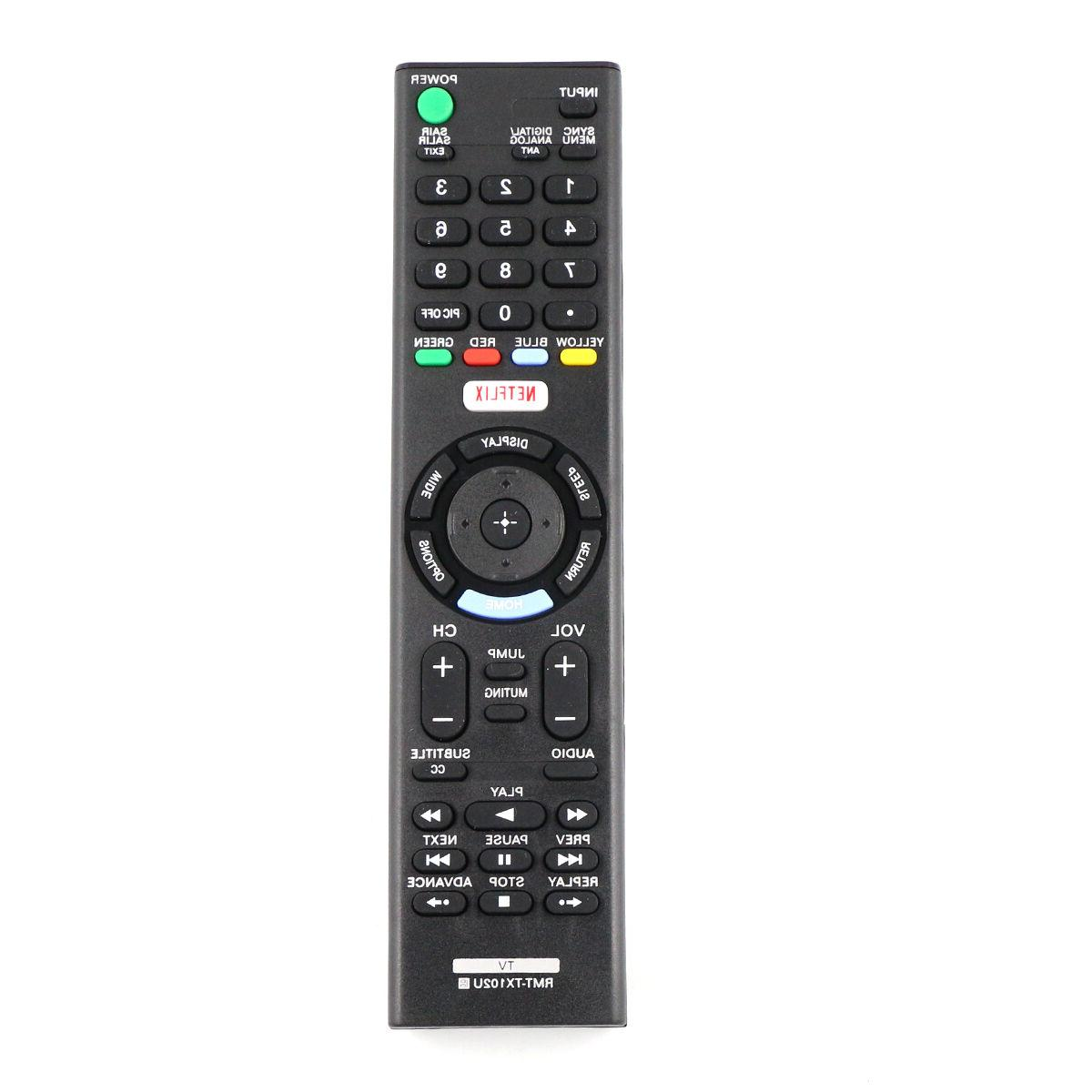 New RMT-TX102U Replaced Remote for Sony TV KDL-48W650D KDL-3
