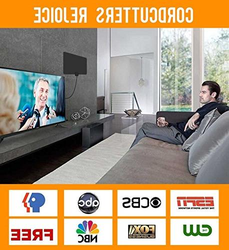 Updated Newest HDTV Digital Magnetic Ring Signal and More Free channels, Long enough