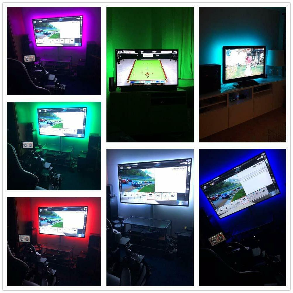 LED TV Powered USB Strip Lights for to 60 Bias