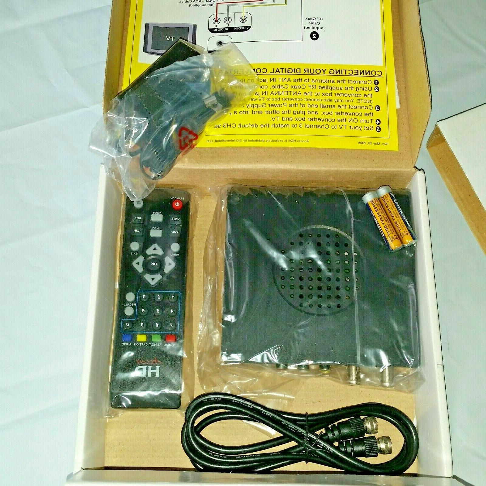 Access HD-TV Converter Digital to Analog DTA1080D