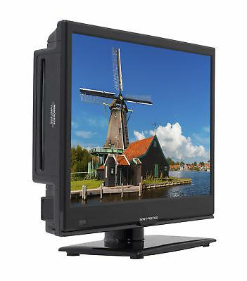 TV 16 w/ LED HDTV Flat Screen Monitor HDMI
