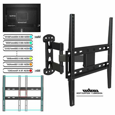 Full Motion TV Wall Mount Single Stud for Samsung Vizio LG
