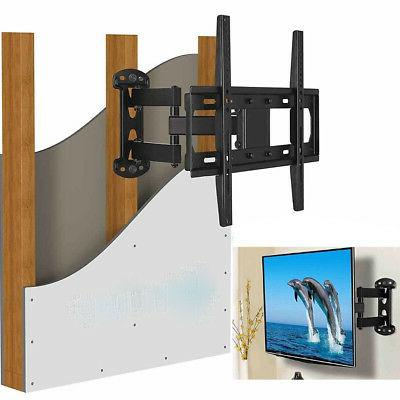 Full Motion TV Wall Mount Bracket Single Stud for