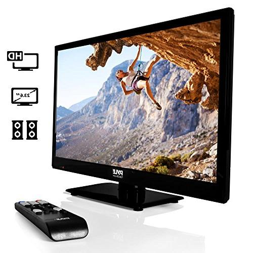 Pyle 1080p LED TV TV   LED Hi Res Monitor with HDMI Input   Monitor   Streaming   Mac PC Speakers   Wall Mount