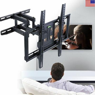 TV Wall Mount Bracket Full Motion Arm 18-In Extension for 26