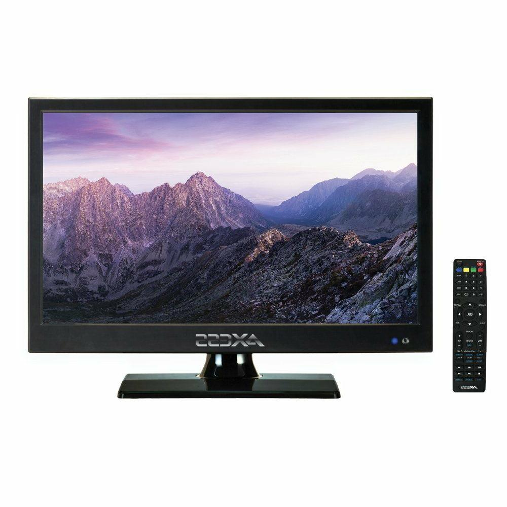AXESS TV1705-15 15-Inch LED HDTV HDMI Inputs Remote