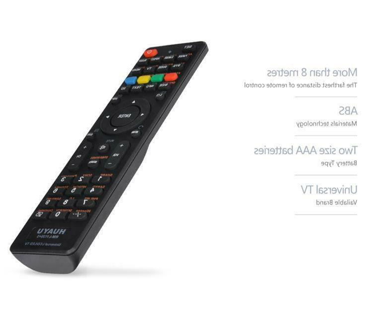 Universal LCD/LED/HD TV Remote Control