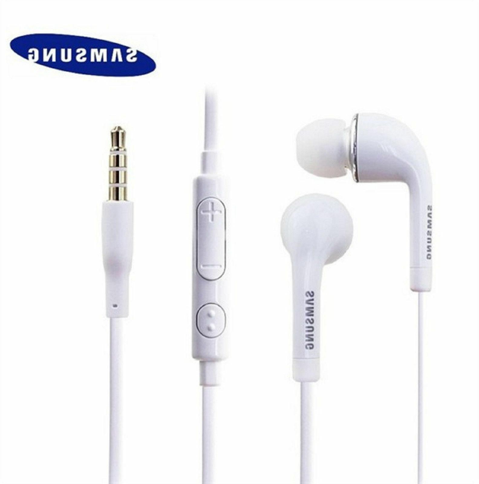 wholesale 10 lot earbuds earphone mic vol