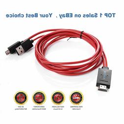 MHL Micro USB to HDMI 1080P HD TV Cable Adapter for Samsung
