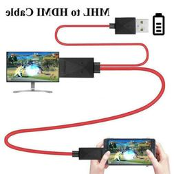 Micro USB to HDMI 1080P HD TV Cable Adapter for Android Sams