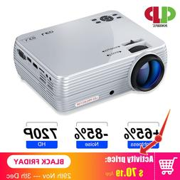 POWERFUL MINI Projector X5+ 1280*720P <font><b>Full</b></fon
