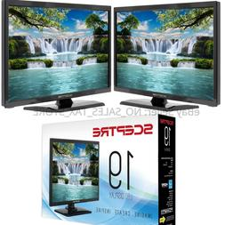 "New Sceptre 19"" Class HD  LED TV Flat Screen Television w/ R"