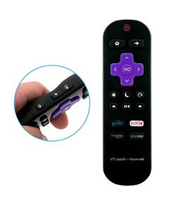 New Remote Control LC-RCRUS-17 for SHARP Roku TV Television