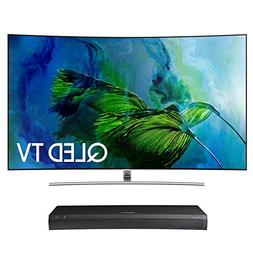 """Samsung QN75Q8C 75"""" Curved 4K UHD HDR QLED Smart TV with UBD"""