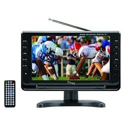 SuperSonic SC499 9 LCD Portable Digital TV with ATSC/NTSC Tu