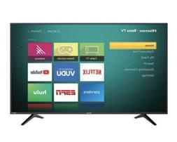 Tv 50″ Hisense 4K  Roku Smart LED TV