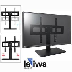 "TV Stand Base With Swivel Mount For 32-65"" TV Entertainment"