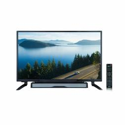 "AXESS TV1704-32 32"" HD TV W/ External Soundbar Speaker SD"