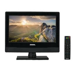 AXESS TV1705-13 13-Inch LED HDTV, Features 1xHDMI/Headphone