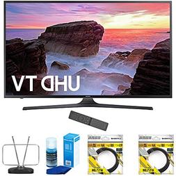 "Samsung 40"" 4K Ultra HD Smart LED TV 2017 Model  with 2 x 6f"