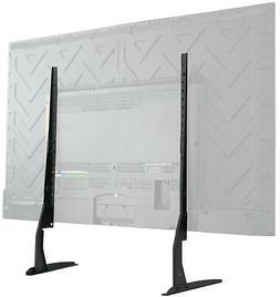 Universal LCD Flat Screen TV Table Top Stand Base Padded Bot