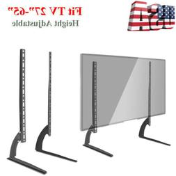 """Universal LCD LED HD Table Top TV Stand Base for 37"""" - 65"""" F"""