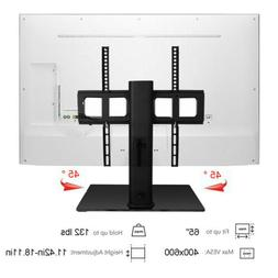 Universal Swivel TableTop TV Stand Base Pedestal Bracket Mou