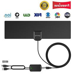 Updated 2018 Version TV Antenna, Indoor Digital HDTV Antenna