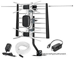 ViewTV WA-2800 Digital Amplified Indoor Outdoor TV Antenna 1