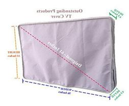 Weather Resistant Lined Protective Outdoor TV Cover For VIZI