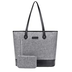UtoteBag Women 15.6 Inch Laptop Tote Bag Notebook Shoulder B